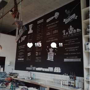 instagram Espressobar de fazant